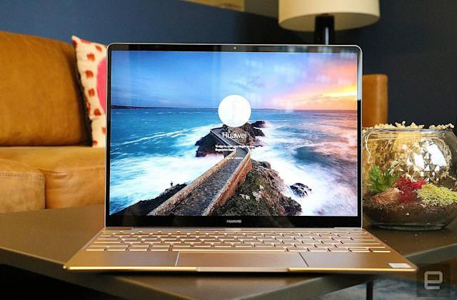 Huawei's first laptop is a MacBook clone in looks alone