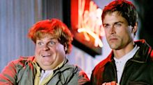 Chris Farley had a hilarious excuse for meal which 'horrified' Rob Lowe
