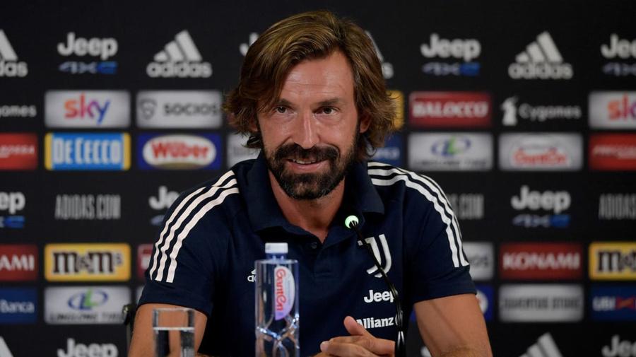 """Juve, Pirlo: """"Champions complicata, ci vuole anche fortuna"""""""