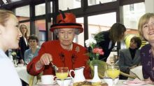 This is what the Queen likes to snack on
