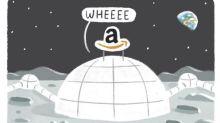 Stephen Collins on Amazon's Jeff Bezos – cartoon