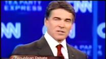Perry assailed by GOP rivals, defends his record