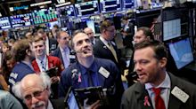 Stocks rise, Dow gains more than 500 points