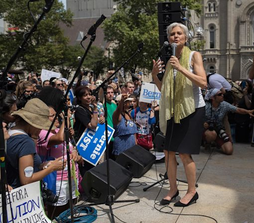 Meet Jill Stein, the Green Party Foe of Hillary Clinton and Donald Trump