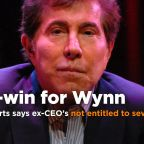 Wynn Resorts says ex-CEO Steve Wynn not entitled to severance pay