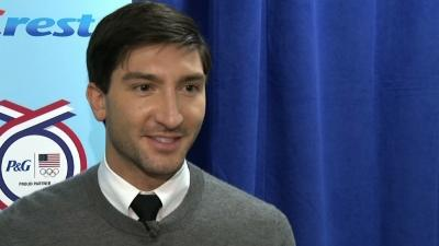 Lysacek Back to Defend Olympic Title