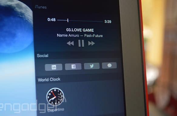 iTunes for Mac gets its own Notification Center widget