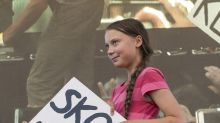 Arnold Schwarzenegger lends climate activist Greta Thunberg his electric car to take to Canada