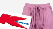 Kmart shoppers lose it over 'vagina-looking' comfort pants