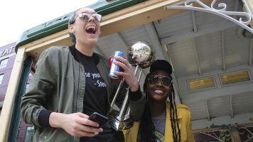 WNBA superstar Stewart has ruptured Achilles