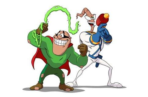 Earthworm Jim joins backer-exclusive Boogerman 20th Anniversary co-op mode