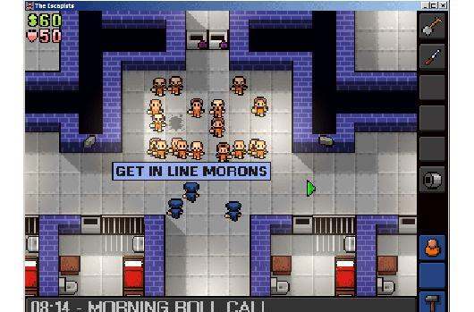 Prison breakout sim The Escapists picked up by Worms studio Team17