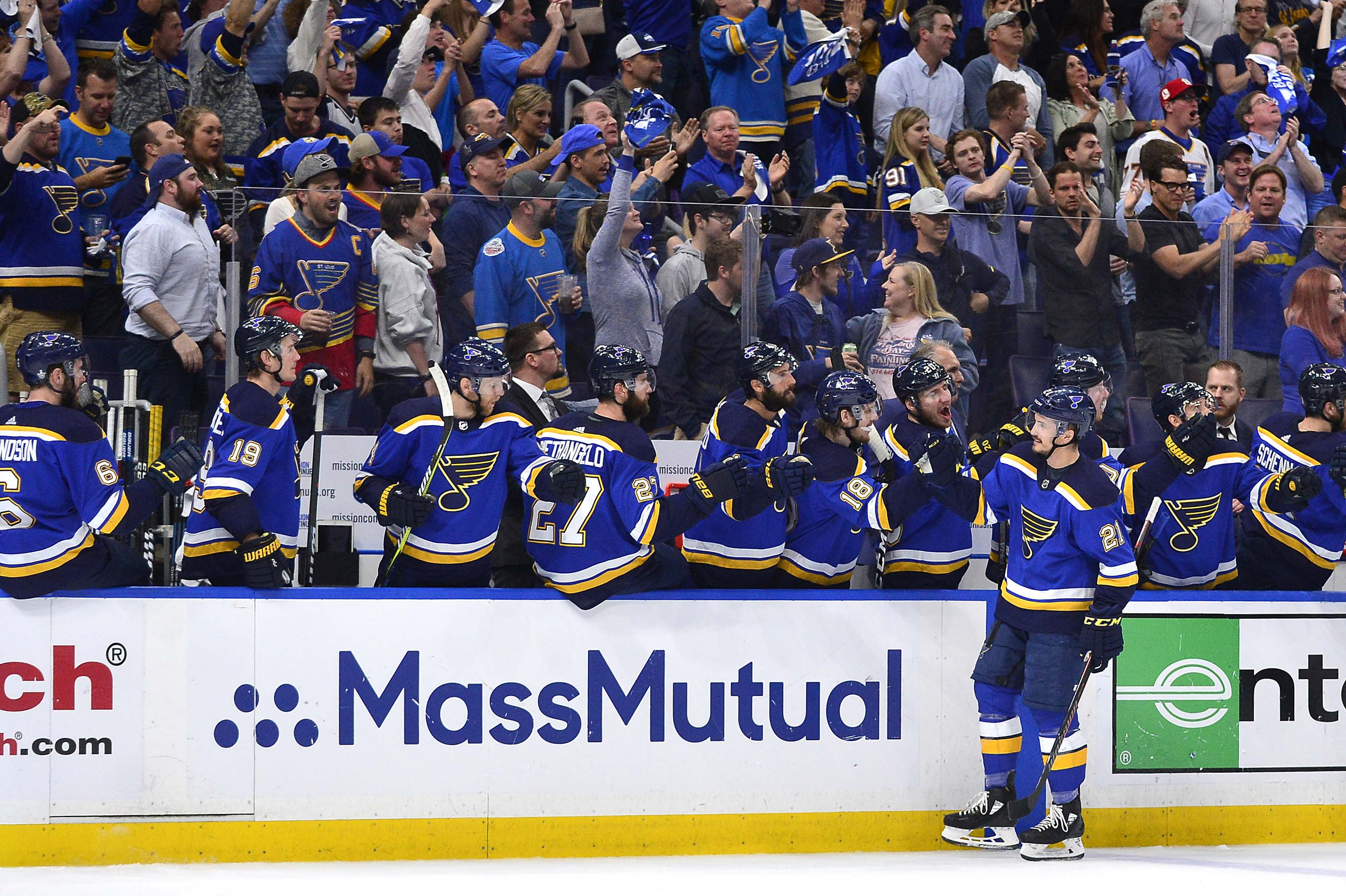 NHL Playoff 2019 Roundup: Blues pull even with Sharks with 2