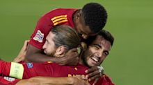 Spain 4-0 Ukraine: History for Fati and Ramos at the double