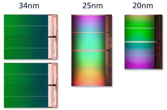 Intel and Micron announce new 20nm NAND Flash manufacturing process