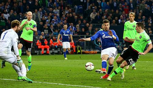 Europa League: Die Highlights von Schalke 04 gegen Ajax Amsterdam