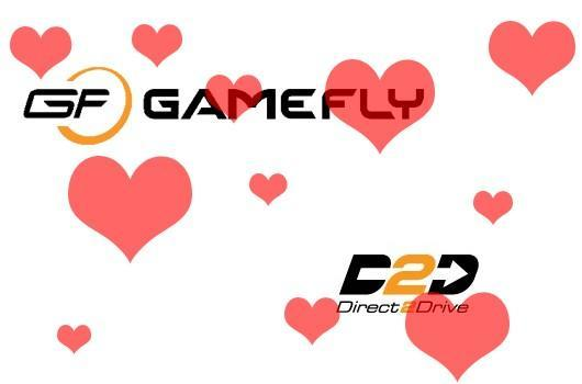 GameFly acquisition of Direct2Drive official