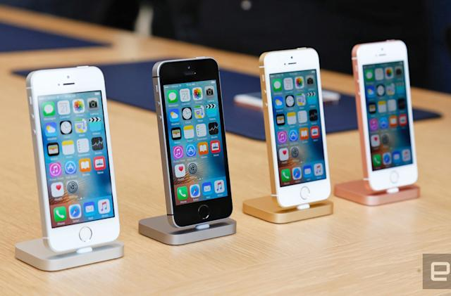 Apple opens pre-orders for the iPhone SE and new iPad Pro