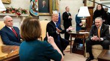 Schumer e Pelosi contro Trump: vuole lo shudown, ma muro non serve