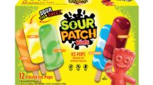J&J Snack Foods Unveils New SOUR PATCH KIDS® Flavored Ice Pops