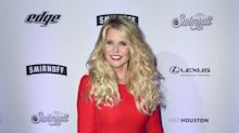 63-year-old Christie Brinkley dons skintight red jumpsuit to celebrate Kate Upton's Sports Illustrated cover
