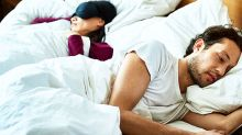 Couple who swap sides of the bed at night spark debate