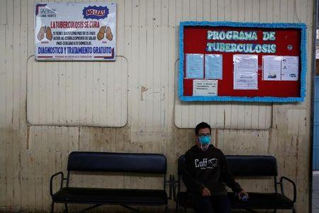 Jorge waits to receive his medicine for tuberculosis at El Progreso Health Centre in Carabayllo in Lima, Peru July 14, 2016. REUTERS/Mariana Bazo