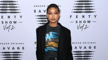 Willow Smith's Savage x Fenty Runway Look Included Fishnets & Dr. Marten Boots