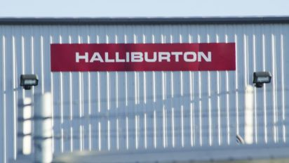 Halliburton: slower growth as rig count drops
