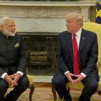 President Trump Meets with Indian Prime Minister Narendra Modi