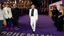 Rami Malek's response to question about Freddie Mercury being a gay icon doesn't go so well