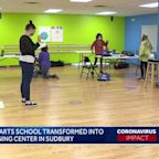 Performing arts school transformed into hybrid learning center