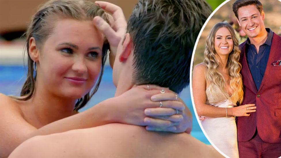 Bachelor winner Chelsie's X-rated confession