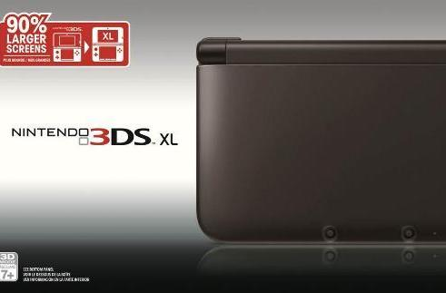 3DS XL goes black in time for Dream Team