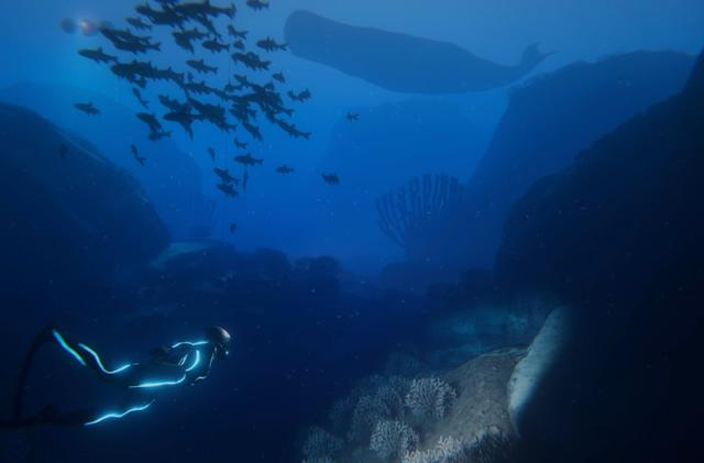 'Beyond Blue' is an educational game about saving the ocean