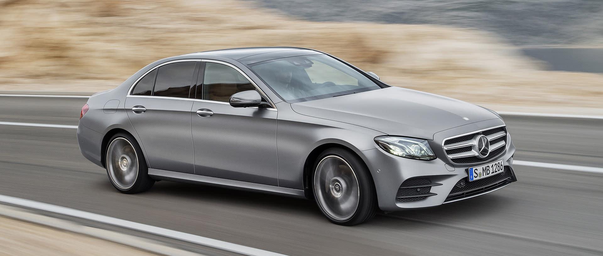 2017 mercedes benz e class grows larger and goes high tech for Mercedes benz techs