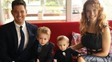 Michael Buble's son Noah starts cancer treatment