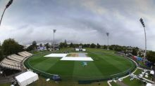 Rain cuts short first day in Hamilton