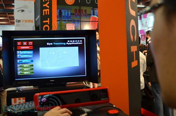 Utechzone Spring eye-tracking system hands-on (video)