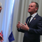 Donald Tusk agrees to a 'short' Brexit delay but says it must first be approved by parliament
