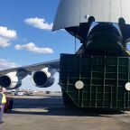 Russian Cargo Plane Carrying Medical Supplies Lands at JFK