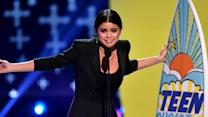 Selena Gomez Emotional Acceptance Speech 2014 Teen Choice Awards