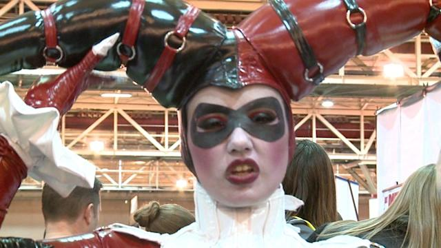 Designer Takes Custom Mardi Gras Carnival Costumes To New Heights