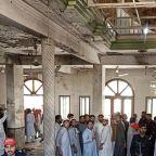 Blast at Pakistani religious school kills seven, wounds more than 80