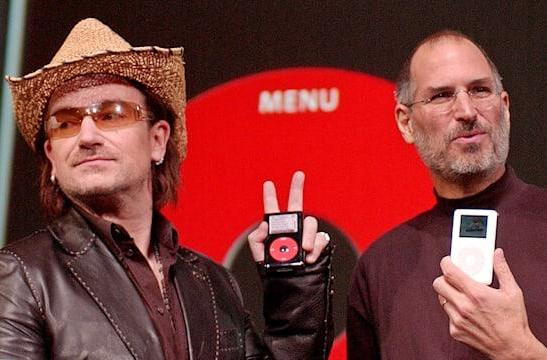 Bono criticizes Apple for lack of Product RED promotion
