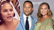 Chrissy Teigen shares worrying pregnancy update from hospital