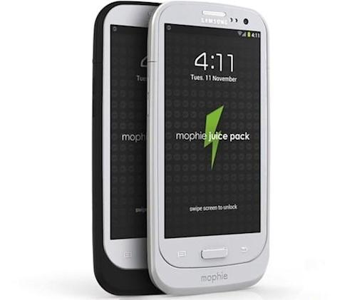 Mophie Juice Pack for Samsung Galaxy S III now available for $100