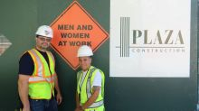 Construction company introduces gender-neutral 'at work' signs to hammer out sexism in the industry