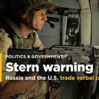 Russia warns US, says special forces helping Syrian troops