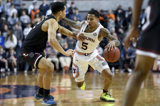 Cambridge S Big Night Lifts Auburn Over South Carolina